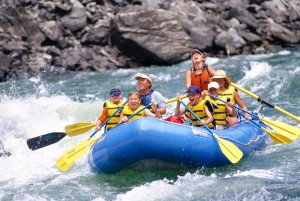 family whitewater rafting in glenwood springs