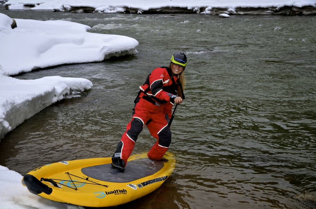 Our SUP guide Brittany Parker