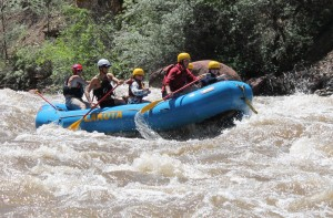 Whitewater Rafting is one of the best ways to stay cool in Glenwood Springs.