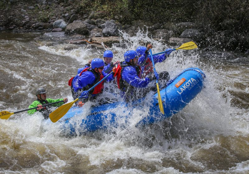 Browns Canyon Full Day Rafting Glenwood Adventure Company