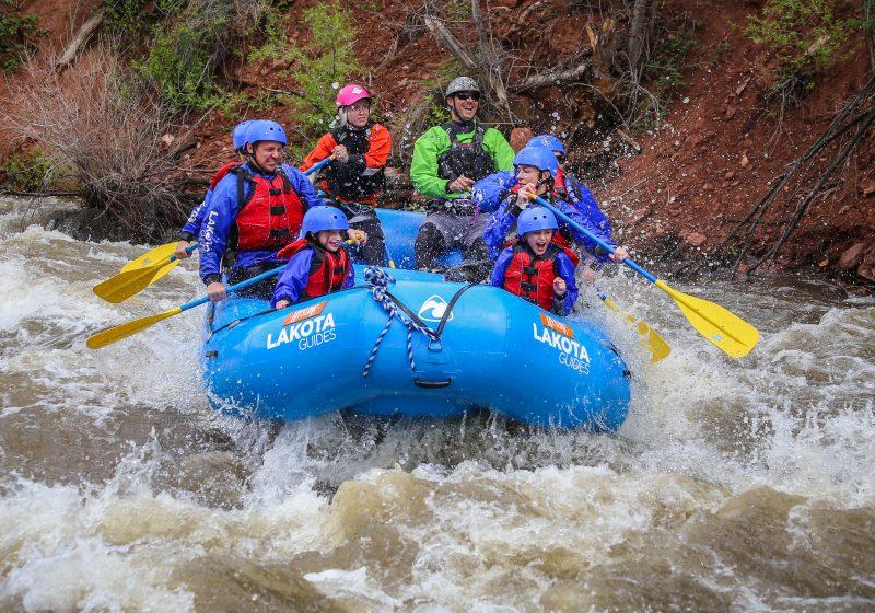 Glenwood Canyon Shoshone Rapids Half Day Rafting