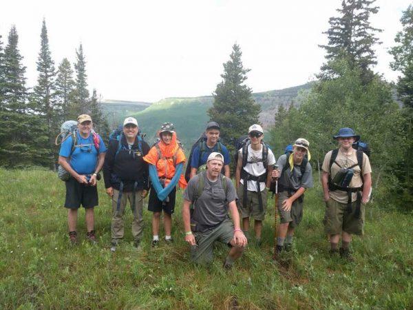 The hiking team!