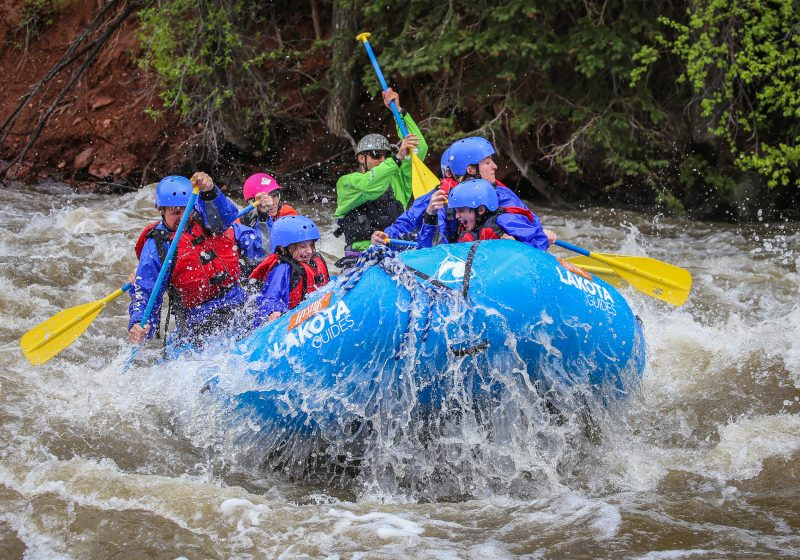 Colorado River Shoshone Rapids Full Day Rafting High